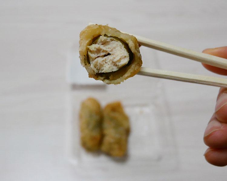 ミニストップ「ささみしそ巻き梅風味(181円)」
