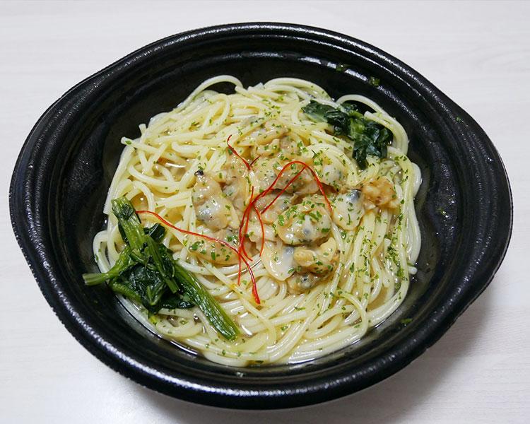 デイリーヤマザキ「あさりのスープパスタ(321円)」