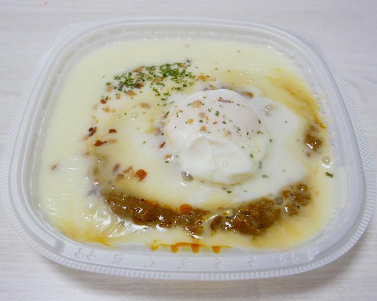 セブンイレブン「クワトロチーズソースの白いキーマカレー(537円)」原材料名・カロリー