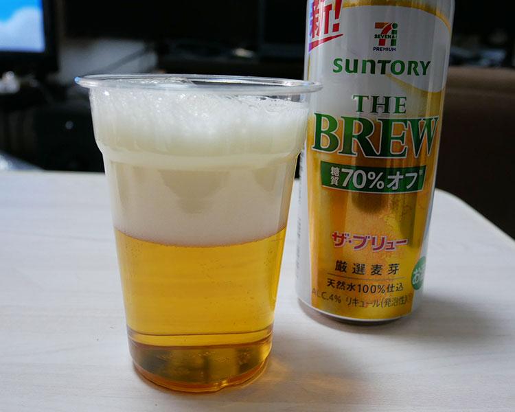 セブンイレブン「ザ・ブリュー 糖質70%オフ 500ml(194円)」