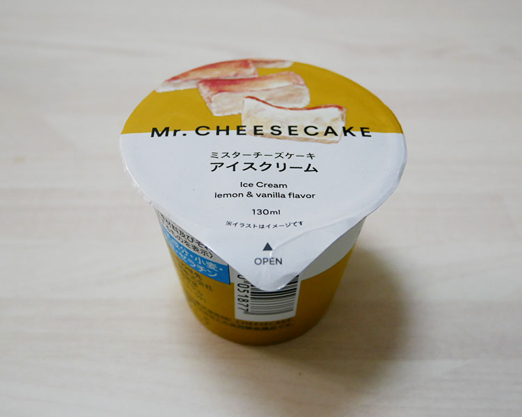 ミスターチーズケーキアイスクリーム(291円)