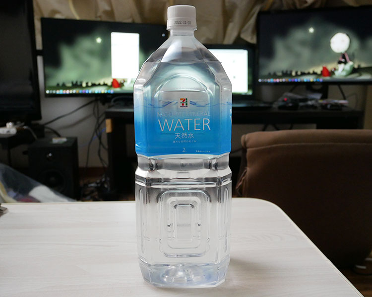 天然水 2L(98円)