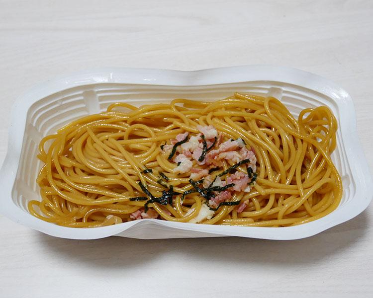 セイコーマート「和風ベーコン醤油パスタ(127円)」