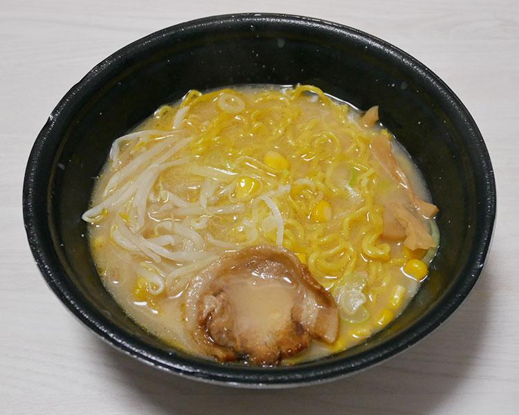 まいばすけっと「雪あかり監修 味噌バターコーンラーメン(537円))」