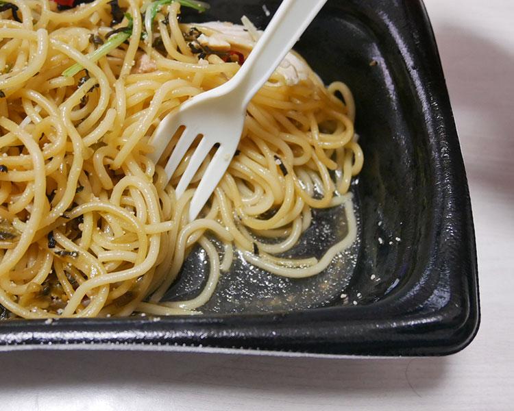 まいばすけっと「大盛!焼きたらこと高菜の和風パスタ(321円)」