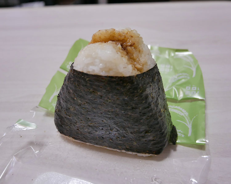 まいばすけっと「おに丼 牛カルビ丼おにぎり(170円)」