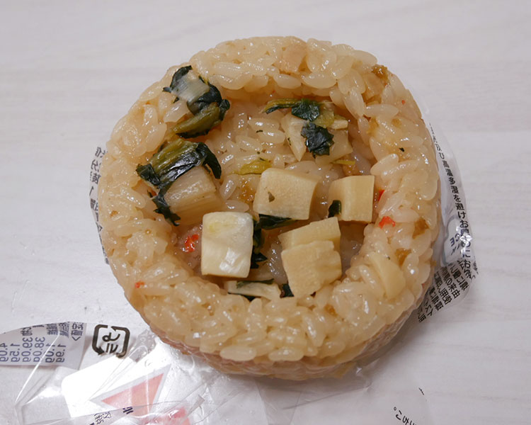 セブンイレブン「春の味覚 筍おこわおむすび(135円)」