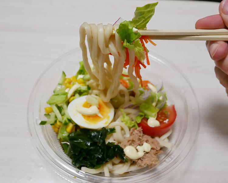 まいばすけっと「国産野菜のサラダうどん(429円)」