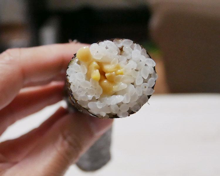 セブンイレブン「細巻寿司 ひきわり納豆(145円)」