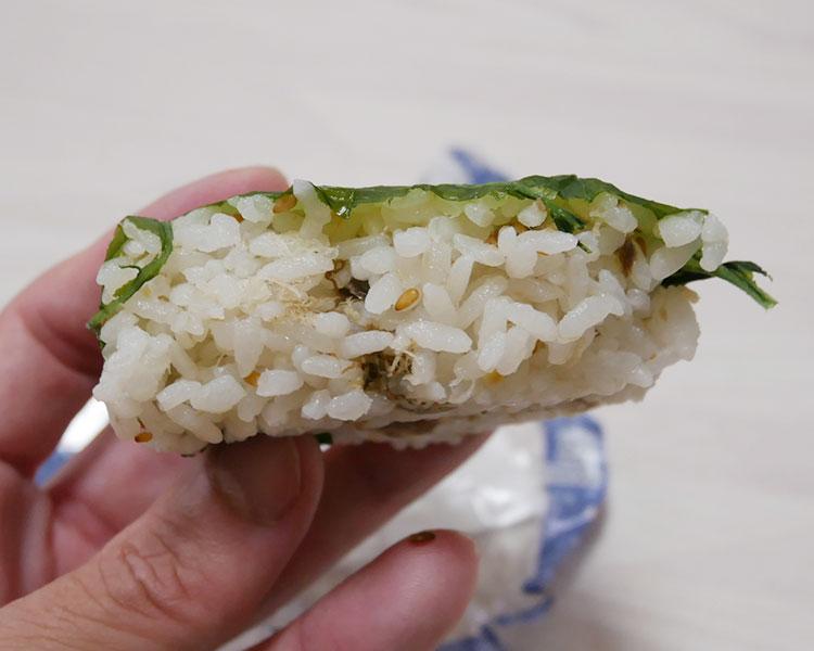 ファミリーマート「さばと高菜の寿司(158円)」