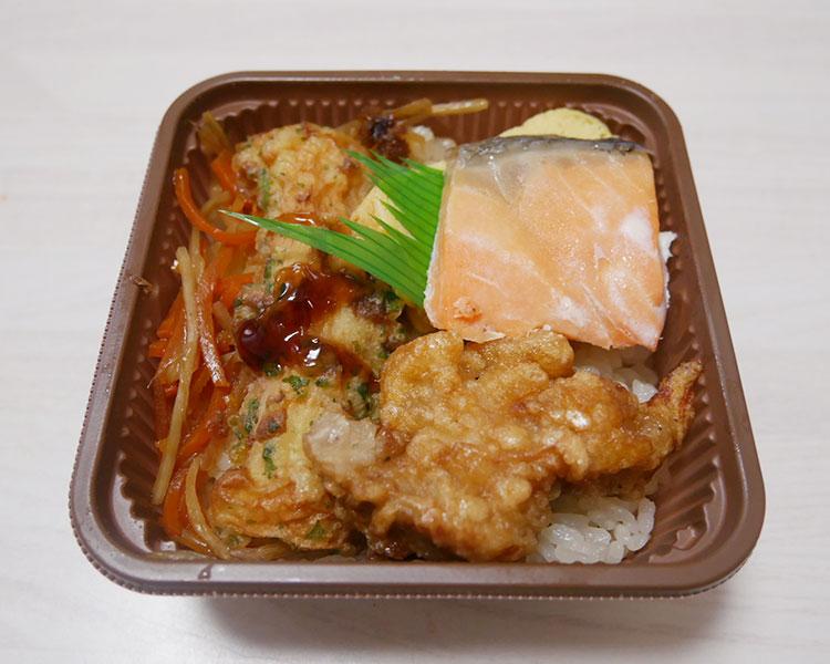 セブンイレブン「一膳ごはん 銀鮭とかつおめし(345.60円)」