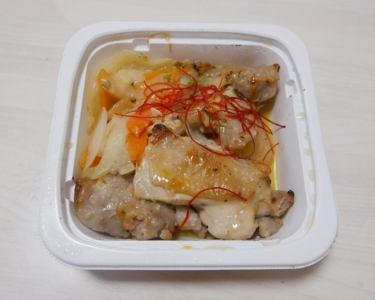 セブンイレブン「鶏の塩麹焼き ねぎソースがけ(397.44円)」