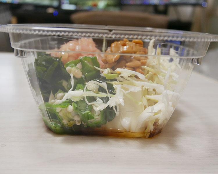 ファミリーマート「納豆と新生姜のサラダ風冷やっこ(360円)」