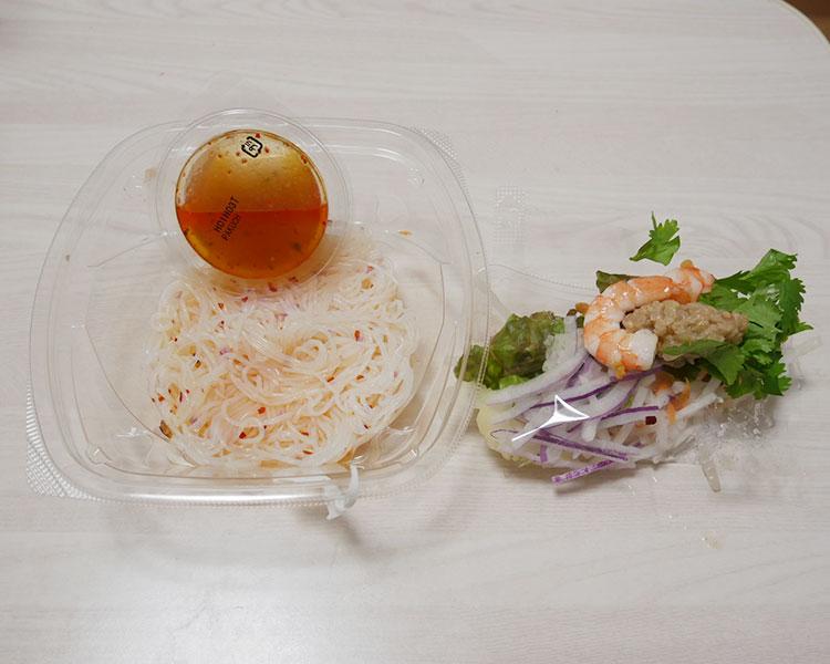 ファミリーマート「海老とパクチーの春雨サラダ(360円)」