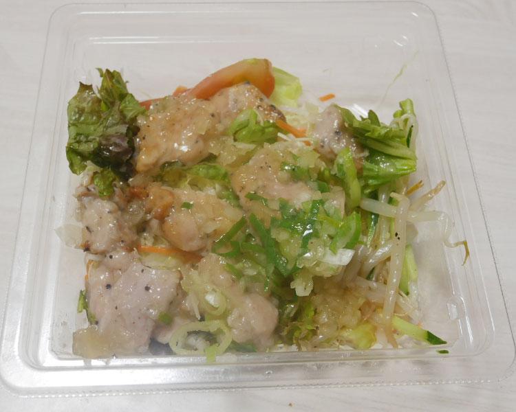 セブンイレブン「ねぎ塩チキンのサラダ(399円)」