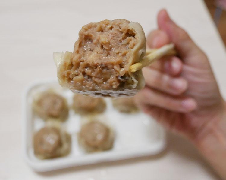 ファミリーマート「肉汁たっぷり 肉シュウマイ(398円)」