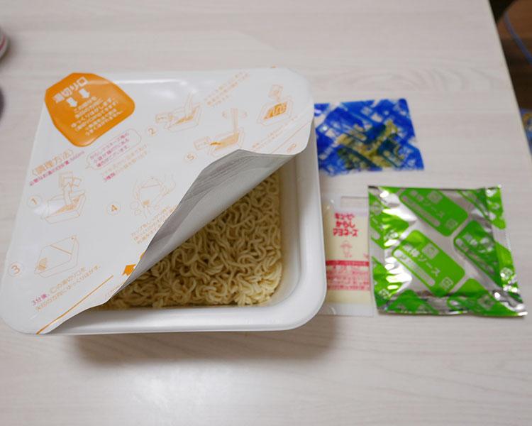 ファミリーマート「ソース焼そば からしマヨネーズ付き 大盛(198円)」