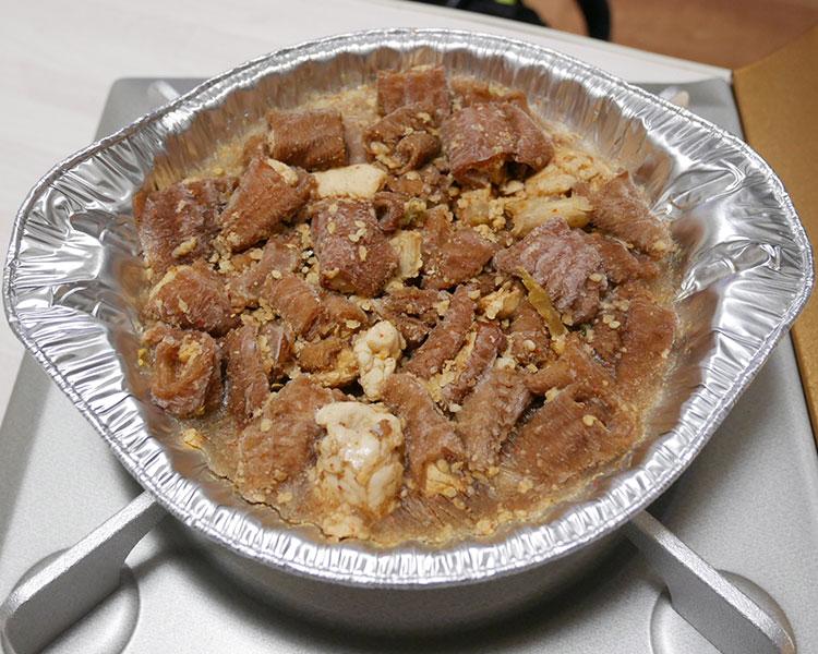 ローソン「ナガラ食品 ホルモン鍋(410円)」