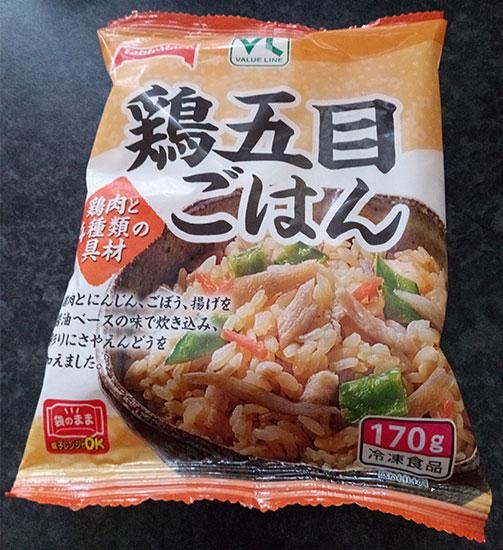 鶏五目ごはん(108円)