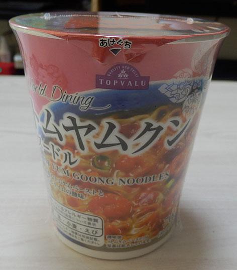 トムヤムクンヌードル(105円)