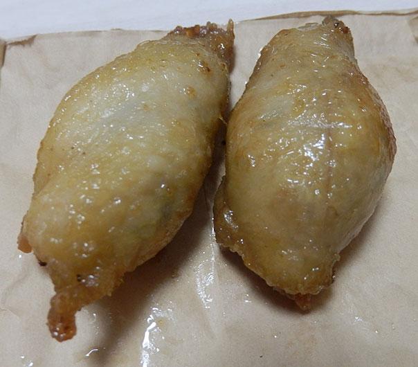 ローソン「鶏皮ぎょうざ(60円)」